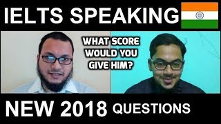 ✔ IELTS Speaking Test Samples Band 6 INDIA 🇮🇳 Hyderabad NEW 2018 with SYED 8