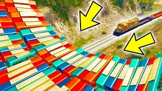 CAN 100+ BUSES STOP THE TRAIN IN GTA 5?