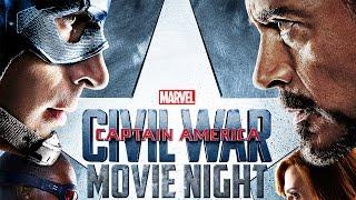 Captain America: Civil War   Movie Night