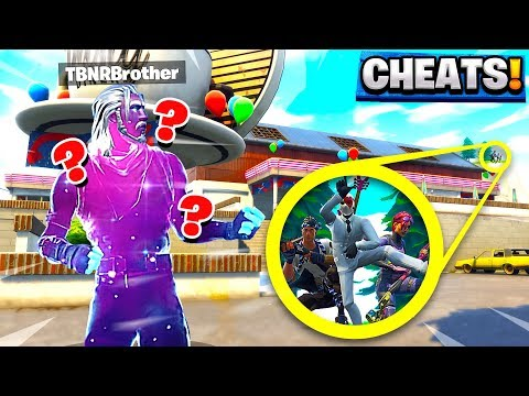FORNITE DUSTY DINER HIDE AND SEEK WE ALL CHEATED against MY LITTLE BROTHER