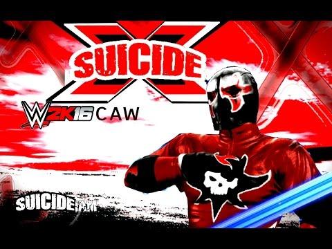 sUICIDe X WWE 2K16 CAW #1