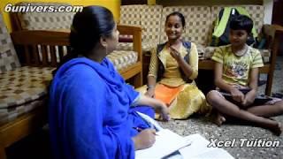 Xcel Home Tuition Centre - Demo class// 6Univers.com