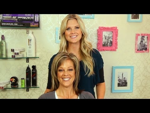 How to get BIG HAIR volume with my beautiful mom