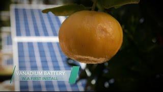 WA first vanadium redox flow battery installed