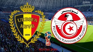 World Cup 2018 - Belgium Vs Tunisia - 23/06/18 - FIFA 18