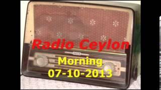 03 Lata Mangeshkar Sad Songs 1~Radio Ceylon 07-10-2013~Morning