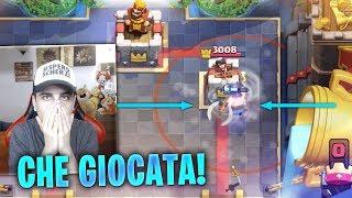 LA GIOCATA PIU' BELLA CHE ABBIA MAI VISTO! Clash Royale ITA!