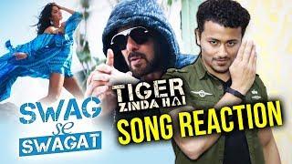 Swag Se Swagat FULL SONG Reaction | Tiger Zinda Hai | Salman Khan, Katrina Kaif