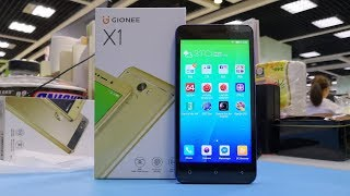 GIONEE X1 Unboxing & Quick review Video