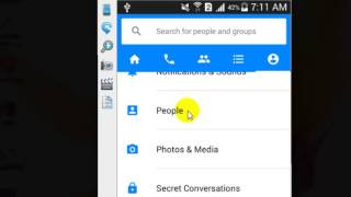 How to unblock contact in Facebook messenger android app