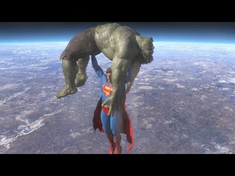 Download Superman vs Hulk - The Fight (Part 4)