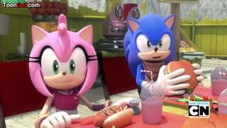 SonAmy Moment in Sonic Boom Episode 23