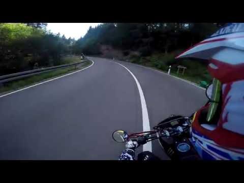 Bike crash // KTM Duke // Fail