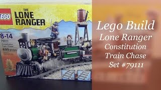Let's Build - Lego Lone Ranger Constitution Train Chase Set #79111 - Part 1