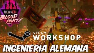 ALEMANES DEL WORKSHOP! Ben and Ed Blood Party en Español - GOTH