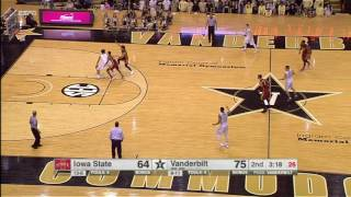 Vanderbilt vs Iowa State Basketball Highlights 1-28-17