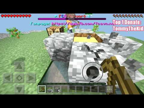 TRẢI NGHIỆM SKYBLOCK TRONG SEVER FCA | Minecraft PE 1.1.0.9