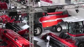 China International Ag Machinery Exhibition 2012   Day One  Massey Ferguson In China English)
