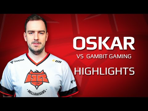 Highlights oskar vs Gambit Gaming at ECS Qualifier