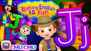 "Learning English Is Fun™ | Alphabet ""J"" 