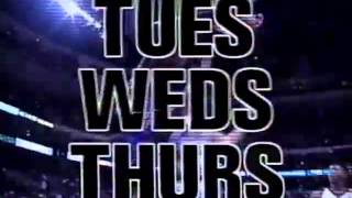 Tuesday Wednesday Thursday Commercial