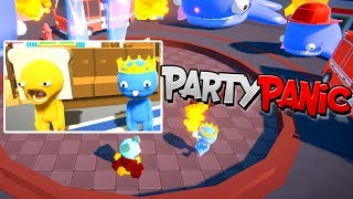 PARTY PANIC GAMEPLAY   NEW LOOT BOXES   RADIOJH GAMES & MICROGUARDIAN