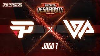 Circuitão 2018: paiN Gaming x WP Gaming (Jogo 1)   Fase de Pontos - 2ª Etapa