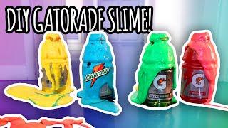 DIY How To Make Gatorade Slime! | Super Fun & Easy!
