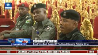 Imo Police Seek Support Of Traditional In Fighting Crime
