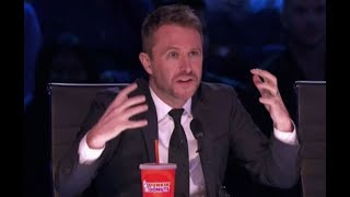 Chris Hardwick rocking as a judge on America