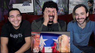 Sausage Party Official Red Band Trailer #1 REACTION & REVIEW!!!