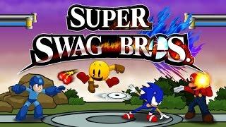 SUPER SWAG BROS - Smash Wii U Animation (Mario vs. Sonic vs. Megaman vs. Pac-Man)