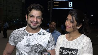 Yeh Hai Mohabbatein Tv Actor Raman (Karan Patel) Spotted At Airport With Wife