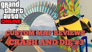 GTA Custom Map Reviews:Crash or Die Race S6 #3