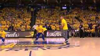 Warriors' Fan Sinks Half-Court Shot to Win Car