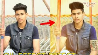 How to Do Oil paiting editing In Picsart || Picsart editing tutorial