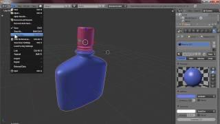 Blender Tutorial - Perfume Bottle