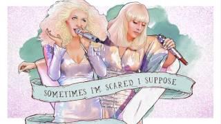 Lady GaGa Ft Christina Aguilera Lyric Video - Do What U Want