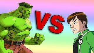 Hulk VS Ben10