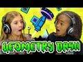 Kids play geometry dash kids react gaming
