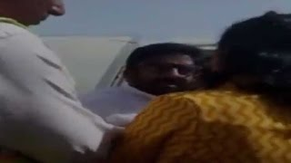 This is how Shiv Sena MP roughed up Air India's elderly staff