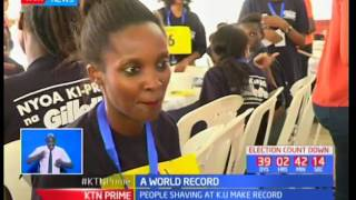 2400 Kenyans Break The Record And Enter Their Names In The Guinness Book Of World Records By Shaving
