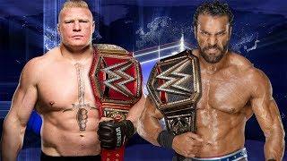 Jinder Mahal VS Brock Lesnar - Backstage Fight