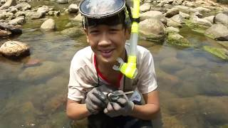 Gold prospecting, Underwater sniping in Taiwan - 20140830