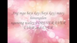 Nganong way forever (lyrics)