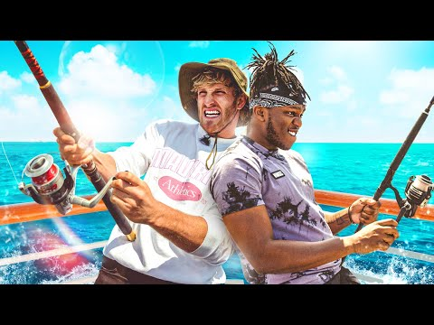 SIDEMEN EXTREME FISHING vs LOGAN PAUL