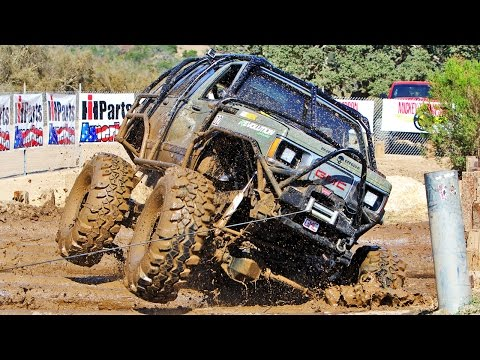 The Tow Test and Frame Twister! - Top Truck Challenge 2014