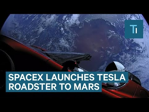 Xxx Mp4 Watch SpaceX Launch A Tesla Roadster To Mars On The Falcon Heavy Rocket — And Why It Matters 3gp Sex