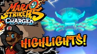 Mario Strikers Charged Let's Play w/ PKSparkxx (EXTREME) - HIGHLIGHTS, RAGE & FAILS!