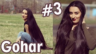 Gohar Shahnazaryan #3 crazy rapunzel long hair slowmotion